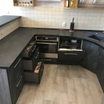 Кухня МДФ в ПВХ «Buddleia»