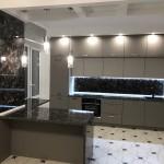 Кухня МДФ в эмали «Bagrat»