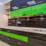 Кухня из пластика «Belial»