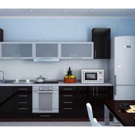 Кухня Black gloss