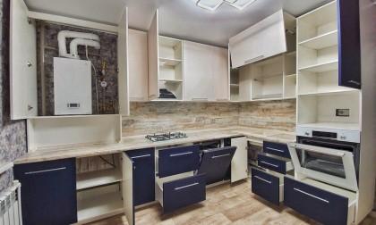 Кухня МДФ в ПВХ «Bodiam»
