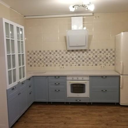 Кухня МДФ в ПВХ «Sulafat»
