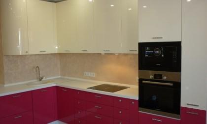 Кухня МДФ в эмали «Amsonia»