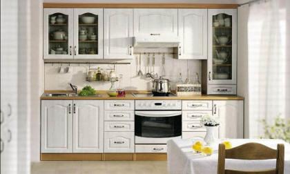 Кухня классика белая