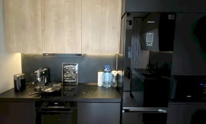 Кухня МДФ в эмали «Kamassia»